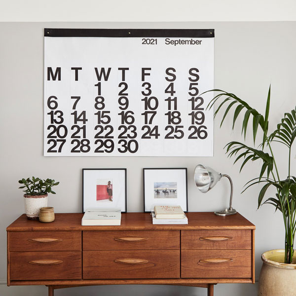 Massimo Vignelli-designed Stendig Calendar