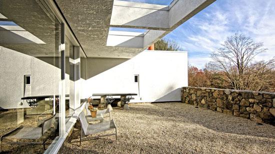 1960s Marcel Breuer-designed Stillman II in Litchfield, Connecticut, USA