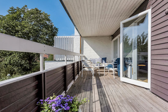 1960s modernism: Three-storey townhouse in Stockholm, Sweden