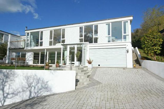 1970s modernist property in Stoke Gabriel, Devon
