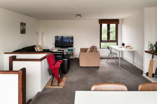 1970s Peter Tabori apartment on the Whittington Estate, London N19