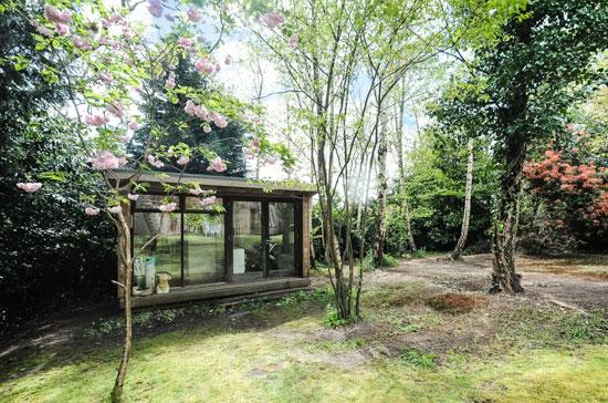 1980s architect-designed modernist property in Storrington, West Sussex