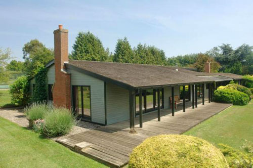 On the market: 1960s five-bedroomed Heron Hill bungalow in Stowmarket, Suffolk