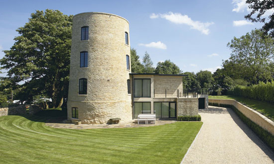 On the Market: Millway Tower – 14th century sawmill becomes a modern four-bedroom home in Stow on the Wold, Gloucestershire