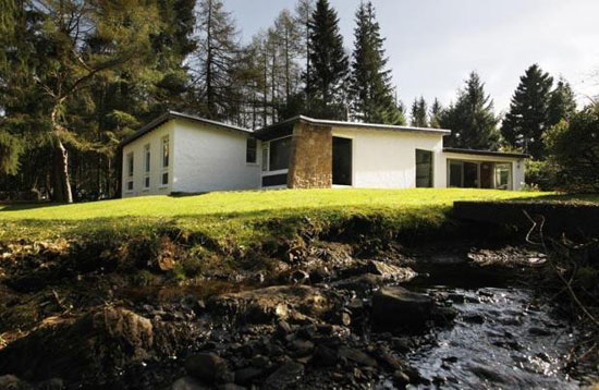 On the market: 1960s John Boys-designed midcentury Mornish house in Strathblane, Glasgow