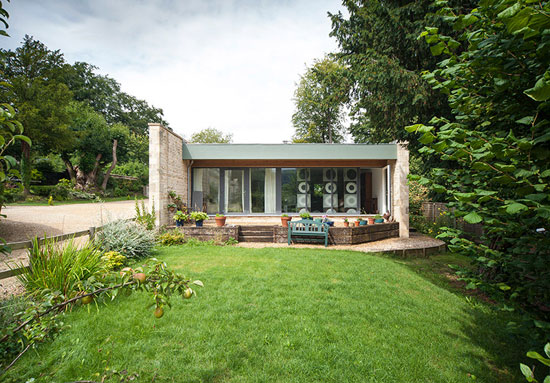 David Scott-designed modernist property in Stroud, Gloucestershire