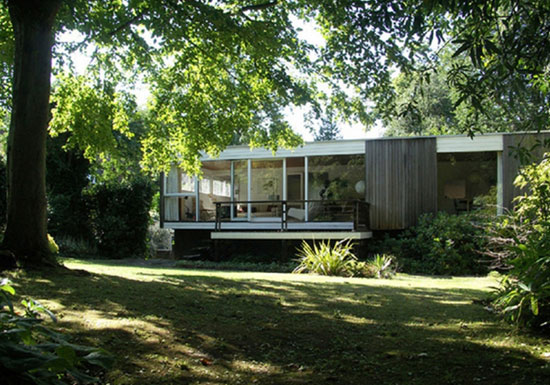 For sale: 1950s Ivor Berresford-designed grade II-listed midcentury house in Sundridge Park, Bromley, Kent