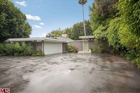 On the market: 1950s Palmer and Krisel-designed three-bedroom midcentury modern property in Los Angeles, California, USA