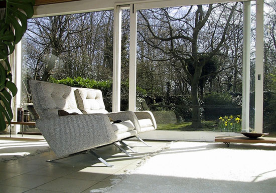 Ivor Berresford-designed grade II-listed midcentury house in Sundridge Park, Bromley, Kent