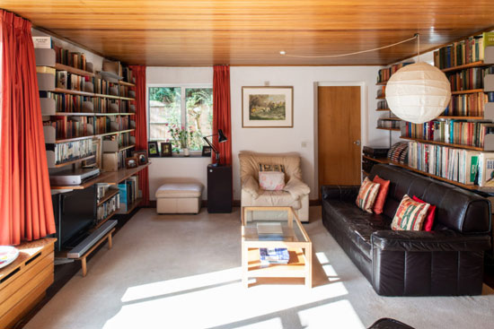 1960s Sir Andrew Derbyshire midcentury modern house in Hatfield, Hertfordshire