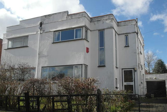 Three-bedroom semi-detached art deco property in Surbiton, Surrey