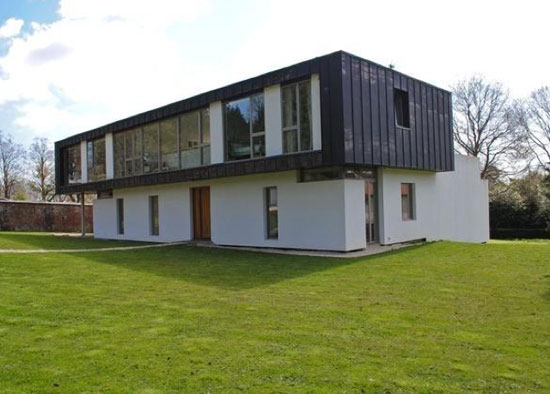 On the market: Conran & Partners-designed Groveside contemporary modernist property in Herons Ghyll, East Sussex