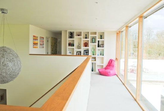 Conran & Partners-designed Groveside contemporary modernist property in Herons Ghyll, East Sussex