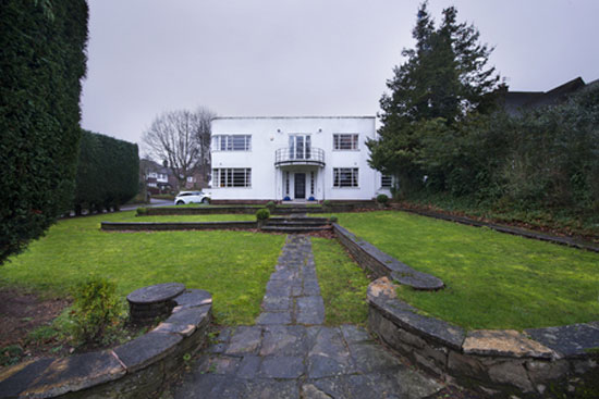 On the market: Four-bedroom 1930s art deco property in Sutton Coldfield, West Midlands