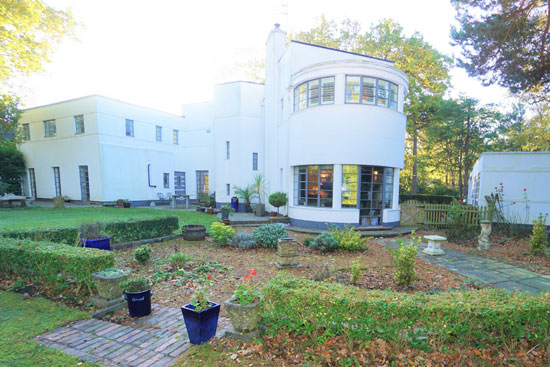 1930s art deco: Grade II-listed property in Sutton Coldfield, West Midlands