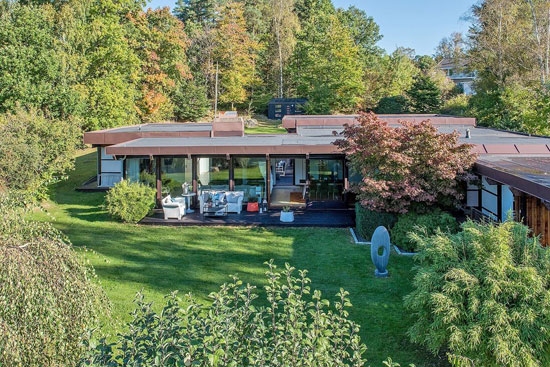 On the market: 1970s midcentury-style property in Lerum, Sweden