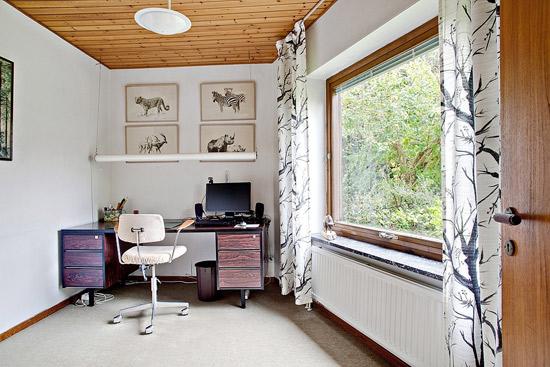 1960s single-storey modernist property in Mellanheden, Malmo, Sweden