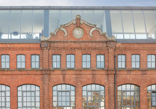 On the market: Four-storey property in The Old Sweet Factory, Hove, East Sussex