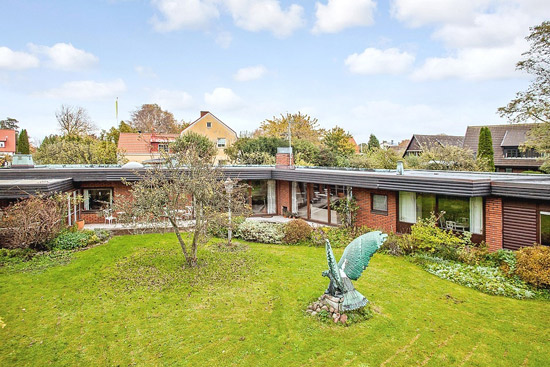 On the market: 1960s single-storey modernist property in Mellanheden, Malmo, Sweden