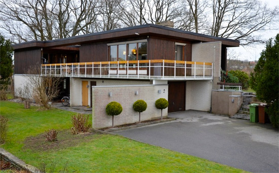 On the market: 1970s modernist property in Ronneby, Sweden