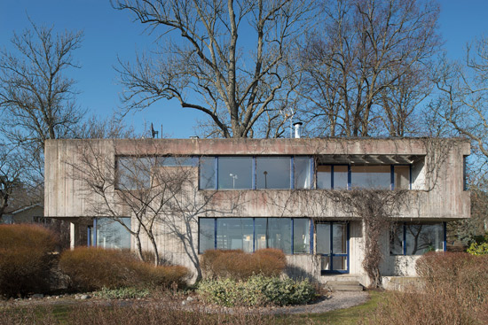 On the market: 1970s Leonie Geisendorf-designed Villa Delin brutalist property in Djursholm, Sweden