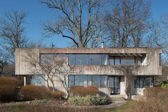 1970s Leonie Geisendorf Villa Delin brutalist property in Djursholm, Sweden