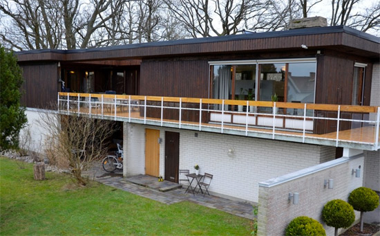1970s modernist property in Ronneby, Sweden