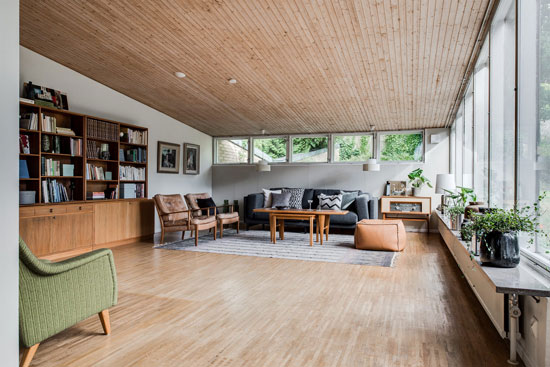 1960s Arne Branzell-designed midcentury property in Gothenburg, Sweden