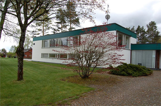 1960s modernist property in Hultsfred, Sweden