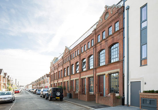 Four-storey property in The Old Sweet Factory, Hove, East Sussex