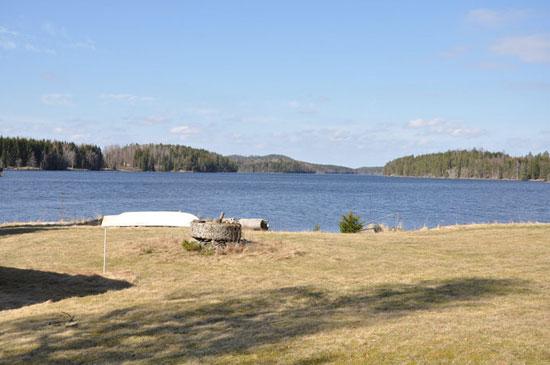 1970s modernist waterfront property in Nassundet, Kristinehamn, Sweden