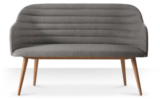 Brooklyn two-seater sofa at Swoon Editions