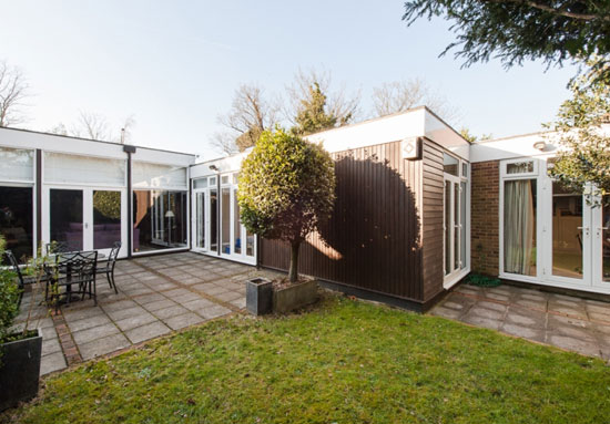 On the market: 1960s Louis Erdi-designed midcentury modern property in Sydenham Hill, London SE26