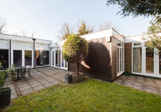 On the market: 1960s Louis Erdi-designed midcentury modern property in Sydenham Hill, London SE26