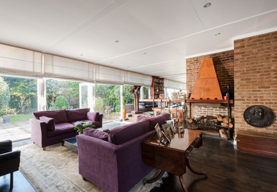 1960s Louis Erdi-designed midcentury modern property in Sydenham Hill, London SE26