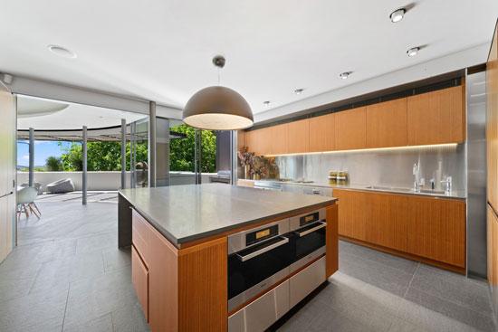 1960s Frank Fox circular house in Sydney, New South Wales, Australia