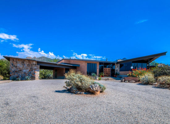 1960s Lester Pritchett-designed midcentury modern property in Tucson, Arizona, USA