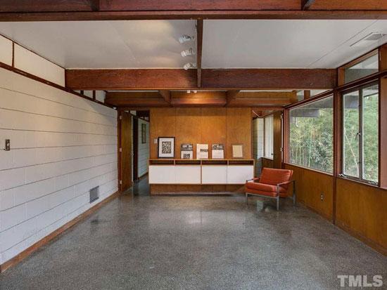 1950s George Matsumoto midcentury property in Chapel Hill, North Carolina