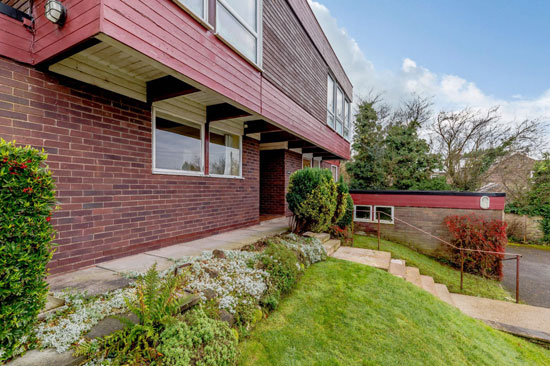 1970s modern house in Tarporley, Cheshire