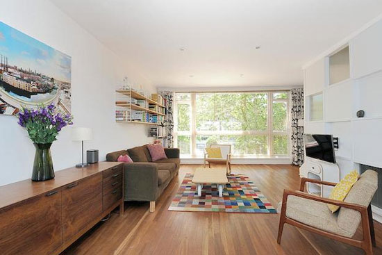 1960s Austin Vernon & Partners-designed townhouse, Dulwich Estate, London SE19