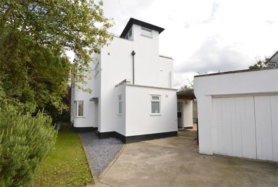 1930s semi-detached art deco property in Twickenham, Greater London