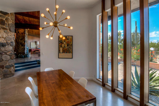 1960s Lester Pritchett-designed midcentury modern property in Tucson, Arizona, USA
