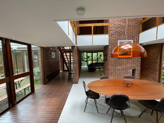 Tapiola 1970s modern house in Chislehurst, Kent