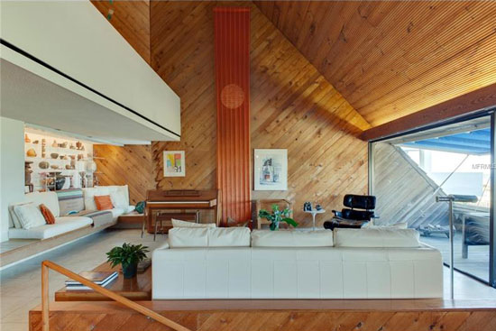 1970s modernism: William Morgan-designed property in Atlantic Beach, Florida, USA