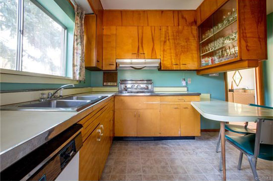 1960s midcentury modern property in Richmond, Virginia, USA