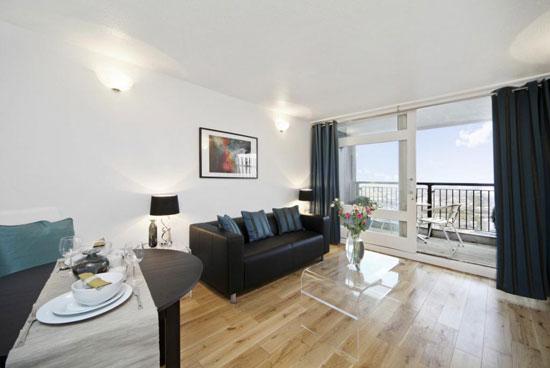 Brutalist rental: Apartment in the Erno Goldfinger-designed Trellick Tower, London W10