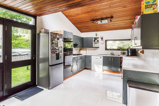 1960s midcentury modern house in Ightham, Kent