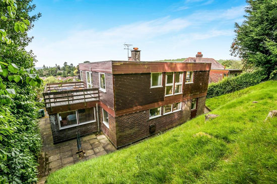 On the market: 1970s modernist property in Kelsall, near Tarporley, Cheshire