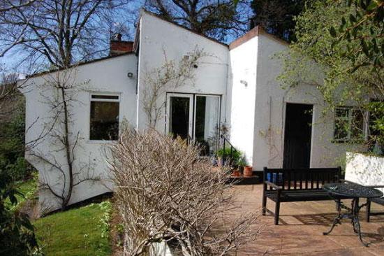 1960s architect-designed modernist property in Taunton, Somerset