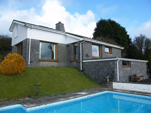 On the market: 1970s-designed five-bedroomed house in Tanyresgair, Cwmann, Lampeter, Carmarthenshire